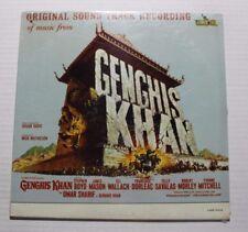 DUSAN RADIC Genghis Khan OST LP Liberty Rec. LRP-3412 US 1965 SEALED M 8A