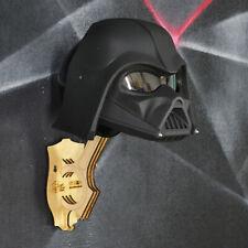 Darth Vader moto helmet. DOT&ECE certified. Painted Raptor u-pol. Free shipping!