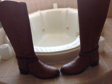 etienne aigner riding boots Beautiful Cognac color. size 9M. Pristine Comdition!