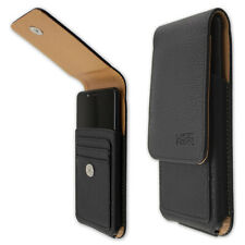 caseroxx Outdoor Case for HTC Wildfire X in black made of real leather