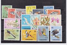 singapore 1962/6 three sets      n37