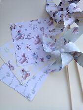 LIBRO PINWHEEL KIT BABY Shower Ragazzo DIY decorazioni primo compleanno battesimo
