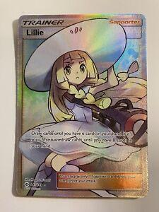 Lillie 147/149 Sun and Moon Pokemon Full Art Trainer *NM/M*