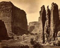 CAÑON DE CHELLE IN GRAND CANYON 1873 8x10 SILVER HALIDE PHOTO PRINT