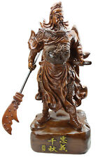 "Feng Shui 18"" Tall LARGE 7lb Chinese Guan Yu / Guan Gong Warlord Statue US Selle"