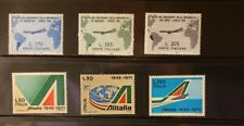 Italy Aircraft & Aviation Stamps Lot of 7 - MNH  - See Details for List