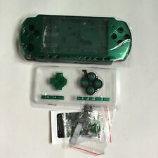Full Housing Shell Replacement for Sony PSP 3000 Console Faceplate Case -Green