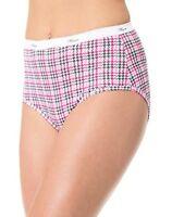 Hanes Womens Plus Cotton Brief 5-Pack- Select SZ/Color.