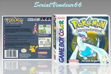 """Boitier du jeu """"POKEMON VERSION ARGENT"""", Game Boy Color. FR. HD. SANS LE JEU."""