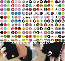 Lots 100pcs cute Phone stickers keypad charm designed DIY for iphone5 6 6S