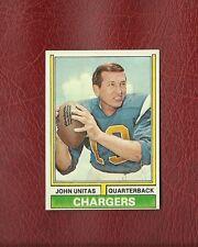 1974 TOPPS #150 JOHN UNITAS (HOF) SAN DIEGO CHARGERS MINT / GEM MINT PACK FRESH