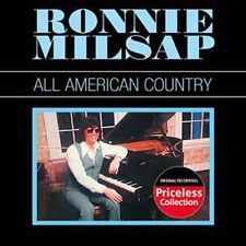 ALL AMERICAN COUNTRY BY RONNIE MILSAP CD *NEW* AUS EXPRESS