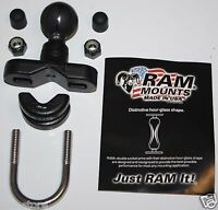 "Motorcycle Handlebar 1"" Ball Mount fit/for Garmin Zumo 450 550 Series GPS Cradle"