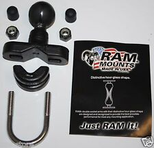 "Motorcycle Handlebar 1""Ball Mount fits/for Garmin Zumo 450 550 Series GPS Cradle"