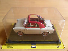 die-cast model of vintage Autobianchi Bianchina scale 1:24 new with box (FABBRI)