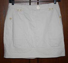 Jones New York Straight Casual Skirt~Sz 10~Above Knee~Stone Color~Super Cute!