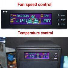 "5.Hot 25""LCD Verkleidung Temperaturregler & Lüfterdrehzahl CPU Kühlsystem"