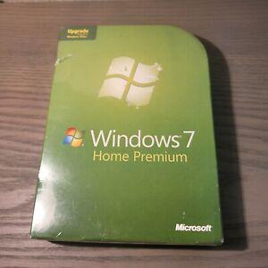 Microsoft Windows 7 Home Premium Upgrade 32 & 64 Bit DVDs Brand New and Sealed