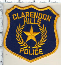 Clarendon Hills Police (Illinois) Uniform Take-off Shoulder Patch from 1991