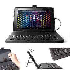 Black PU Leather Case For Archos Arnova 101 G4 Tab + Built-In Micro USB Keyboard