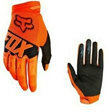 Guantes motocross fox Dirtpaw naranja talla M  nuevos
