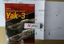 *Yakovlev Yak-3 - Topdrawings Kagero *N*E*W* RECOMMEND!!