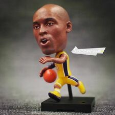 "Soccerwe+ Basketball Movable Dolls 24# kobe (Lakers +Yellow) 2.5"" Figurine"