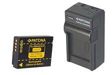 Bateria dmw-bcg10 (e) + 4in 1 cargador para Panasonic Lumix dmc-tz25
