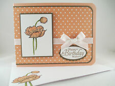 """Stampin Up """"Simply Sketched"""" Handmade Happy Birthday Card"""