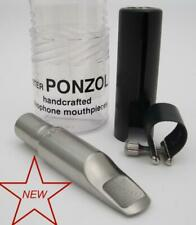 Ponzol M2 Plus Stainless Steel 110 Tenor Saxophone Mouthpiece NEW