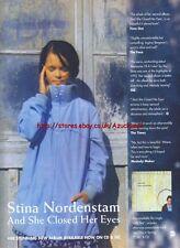Stina Nordenastam Album 1994 Magazine Advert #3203