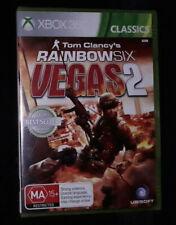 Xbox 360 - Tom Clancy's Rainbow Six: Vegas 2 - Brand New & Sealed