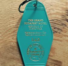 The Grand Budapest Hotel Keychain Keytag Retro Key Chain