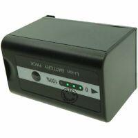 Batterie Camescope Li-ion. capacité: 5200 mAh pour PANASONIC VW-VBD58