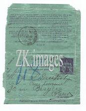 R. GRIMOIN-SANSON Autographe Druhot Marey Cinema PNEUMATIQUE 1927