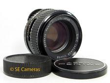 Pentax Smc Takumar 50 mm F1.4 M42 tornillo de montaje de la lente principal * Buen Estado *