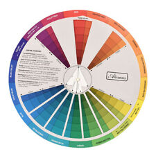 Makeup Painting Crafts Color Pigment Mixing Guide Chart Board Palette Plate