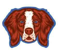 Brittany Dog Sticker | Die Cut Vinyl