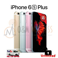 NEW* Apple iPhone 6S+ Plus 16 32 64 128GB (GSM Unlocked) ALL COLORS ⚫🟡⚪🟠