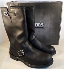 BATES E44107 PALOMAR MEN'S BLACK LEATHER RIDING BOOTS SIZE 12 NEW IN BOX