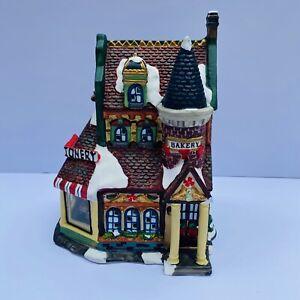 Grandeur Noel Bake Shop Confectionery Bakery Victorian Village 2000 Christmas