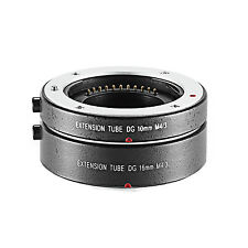 NEEWER AUTO FOCUS AF MACRO EXTENSION TUBE DG 10MM+16MM FT1 FOR MICRO M4/3 CAMERA