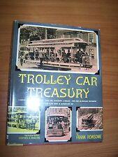 TROLLEY CAR TREASURY BY FRANK ROWSOME 1959? A CENTURY OF AMERICAN STREETCARS