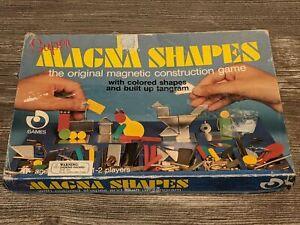 SUPER MAGNA SHAPES Regev Games Magnetic Construction/Geometric Building Game