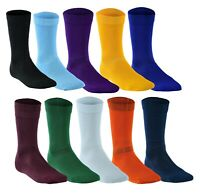 Boys Football Socks Rugby Hockey Soccer Sports Socks Plain Long Size UK