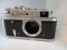 ZORKI-4 Body Leica bases rangefinder camera M39 USSR