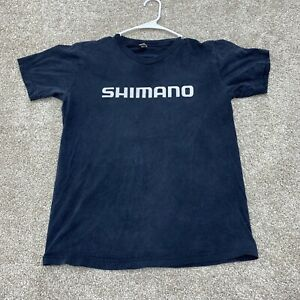 Shimano Shirt Adult Medium Mens Black Casual Work Mens