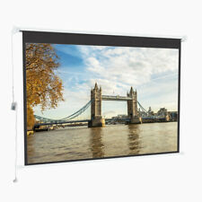 3D HD Home Theater Electric Motorised Projector Screen 16:9 4:3 Projectio Cinema
