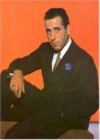HUMPHREY BOGART ~ RED 26x38 MOVIE POSTER Suit NEW/ROLLED!