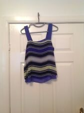 ladies striped top Size 10 From Next